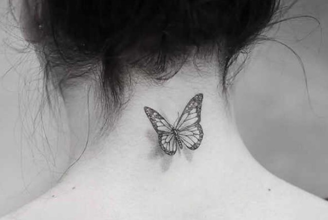 Tattoos para mujeres en nuca