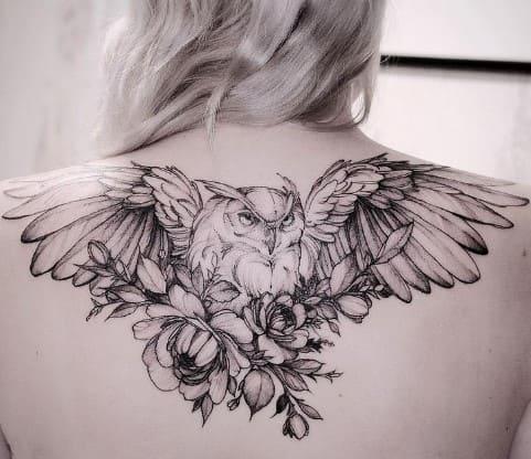 Tatuajes para la Espalda de Mujer