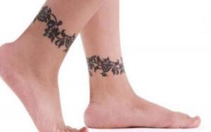 tatuajes para mujer en el tobillo
