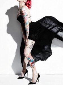 moda tatuaje estilo mujer