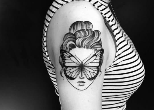 tatuajes para mujeres delicadosblackwork